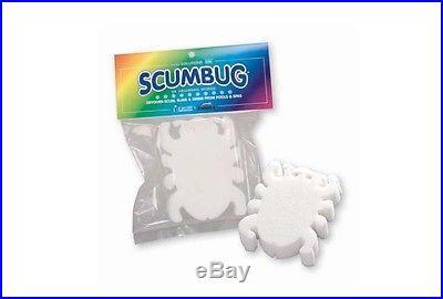 ScumBug Spa Hot Tub Floating Scub Bug Sponge Eliminates Body, Lotion Oil (2 pk)