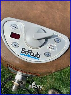 Softub 300 fully reconditioned hydropack /console / hydromate