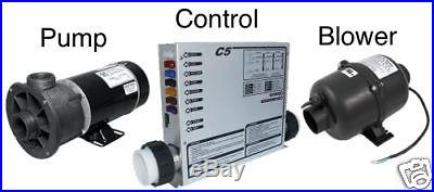Spa CONTROL, PUMP, and BLOWER Bundle 3 pack. SAVE MONEY