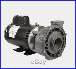 Spa Hot Tub Pump 56 Frame 2 Speed 230V 3HP 10/3.4 AMP 2 Suction 2 Discharge