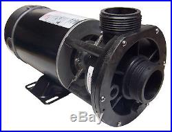 Spa Hot Tub Pump Aqua-Flo, FMCP, Center Discharge, 1HP, 1 Speed, 115Volts