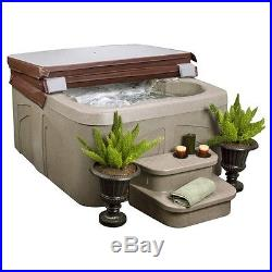Spa Hot Tubs Springs 4 Person 13 Therapy Massage Jets & Cover Outdoor Deck Patio