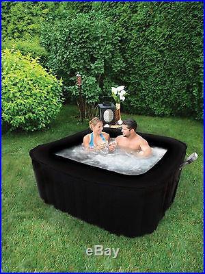 Square TheraPureSpa Portable Inflatable Hot Tub Spa EST5850 TheraPure R