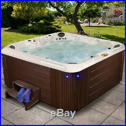 Strong Spas Factory Refurbished Hot Tub Hilton 120 Jets Lounger Relax Bubbles