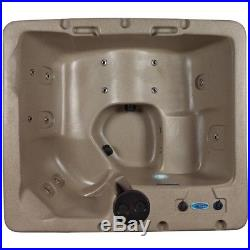 Strong Spas Spa Hot Tub Factory Refurbished Cyprus 14 Jet Lounger Cobblestone