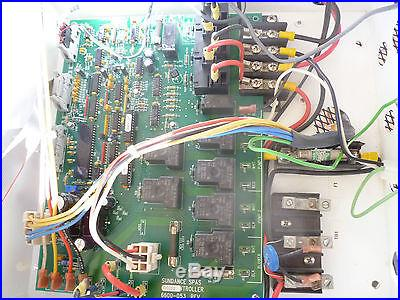 Sundance Spas Sentry Command Center 600 Spa Controller Heater Control Panel