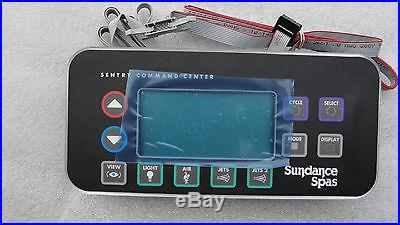 Sundance Spas Topside Panel 850 CONTROL 2 Pump 6600-803