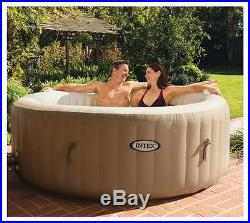 Temporary Jacuzzi Hot Tub 77in Portable Bubble Massage Spa Insulated Cover Set