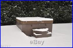 Thickest Hot Tub Cover / Spa Cover -6-4'' Taper 2lb FOAM for maximum insulation