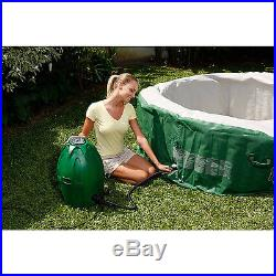 Tub JACUZZI SPA 6-Person Heated Bubble Hot Portable MASSAGE Inflatable Cover NEW