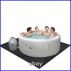 Under the Indoor Spa Inflatable Hot Tub Mat, Soft Felt Fabric, Absorbing Oil and W