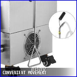VEVOR 44 LBS Portable Fryer Oil Filter Cart Machine Commercial Filtration System