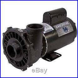 Waterway Executive 56-Frame 4HP Single-Speed Spa Pump 2 Intake 230V 3711621-1D