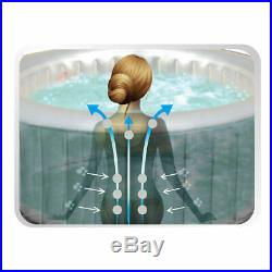 Whirlpool In-Outdoor Pool Wellness Heizung Massage aufblasbar MSpa 158x158cm