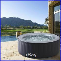Whirlpool In-Outdoor Pool Wellness Heizung Massage aufblasbar MSpa SPA Ø180x70cm