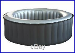 Whirlpool MSpa HWC-A62b, 6 Personen In-/Outdoor heizbar aufblasbar Ø 204cm
