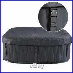 Whirlpool MSpa In-Outdoor Pool Wellness Heizung Massage aufblasbar Spa 185x185cm