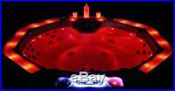 Whirlpool Outdoor Badewanne Außenwhirlpool kaufen W-219,8 Eckig Balboa, 6-7P