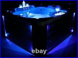 Whirlpool Whirlpools Hot Tub 3-4 P. Outdoor/Indoor W-180S KING-SPA +Schutzhülle