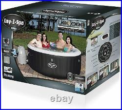 Whirlpool aufblasbar Bestway Spa 2-4 Personen Massage Spa Pool 180 x 66 cm