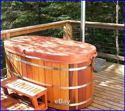 Wood bath tub Extra deep wooden bathtub
