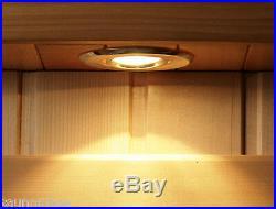 Yukon 2 Person Cedar Carbon Heatwave Sauna Free Shipping! Infrared saunas